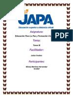 Tarea 3 de Educacion Para La Paz Minely