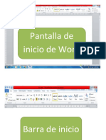 Barra de Herrameintas de Word 102 33