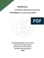307754550 Proposal Gugus Paud