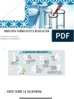 Industria Farmaceutica Regulacion