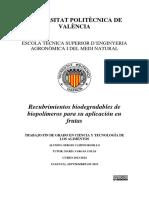 Almidon de Yuca y Aceite Tomillo