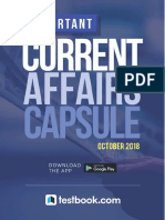 Monthly Capsule October 2018 Testbook [Www.aimbANKER.com]