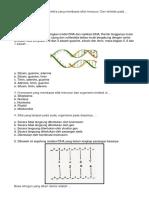 Latihan Soal biologi 3
