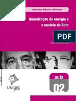 Quantização de energia e modelo de Bohr.pdf
