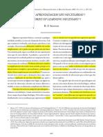 Skinner (2005)_Teorias Da Aprendizagem São Necessárias