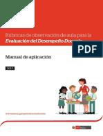 Rúbricas de observación de aula para la evaluación del desempeño docente manual de aplicación.pdf