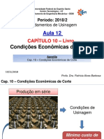AULA 12 - Captulo 10 - Condies Econmicas de Corte