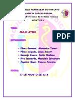 EL CICLO LITICO Genetica Practica II (1)