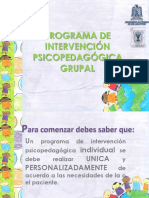 MANUAL DE INTERVENCION PSICOPEDAGOGICA