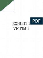 Victim Statements_Calkins%2c Jarod - Sentencing Memorandum With Exhibits
