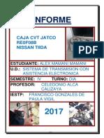 INFORME CVT JATCO