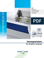 Thermogravimetry for Routine Analysis.