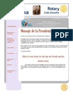 Documento rotary La campana