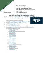 MIV - U1 - Actividad 1. Presupuesto de Egresos