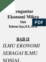 Pengantar Ekonomi Mikro BAB II.edit