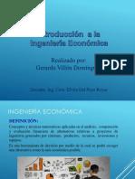 Introducción a Ingeniería Económica