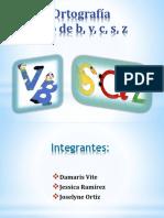 Ortografía Uso de La b,V,c, s,z 22