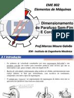 CAPÍTULO 8 - Parafuso Sem-Fim e Coroa Helicoidal - rev1.pdf