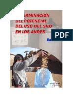Determinacin Del Uso Del Silo en Los Andes - Bolivia