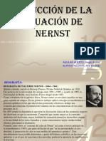 ECUACION DE NERST