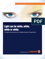Light Can be White By Osram