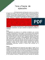 Flora y Fauna  de.docx