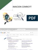 Informacion Conricyt