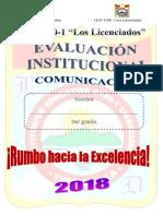 Examen de Comunicacion 3ro Mary