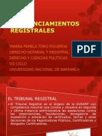 Pronunciamientos Registrales