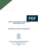 Que y Cuales Son Los Metodos Anticonceptivos 25032017