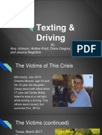 texting   driving final