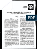 1496-Performance Predictions of the Marg Tex Oil Reservoir Using Unsteady-state Calculations