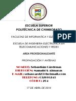 Portafolio Propagacion y Antenas