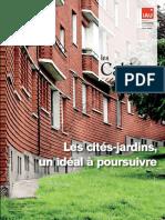 Cités-Jardins, un idéal à poursuivre (Les) - Cahiers de l'IAU Ile-de-France (Idf, N° 165 - avril 2013 trimestriel - 33 e. ISSN 0153-6184)