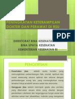 Resume Peningkatan Keterampilan Dokter Dan Perawat Di Rsu-gorontalo 20 Mrt'13