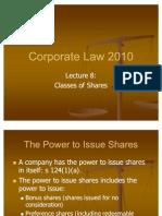 Corporate Law #5