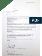 Carta de acuerdo firmada por ministra Transporte y representante de Ministerio del Trabajo
