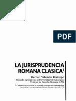 Dialnet-LaJurisprudenciaRomanaClasica-5620585