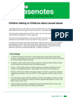Childline Child Abuse Report