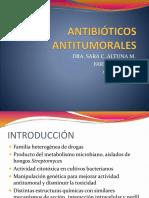 ANTIBIÓTICOS ANTITUMORALES