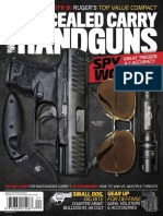 Concealed Carry Handguns 2018 Spring