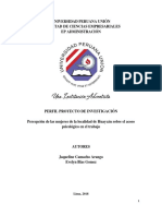 Perfil Del Proyecto-Acoso Laboral