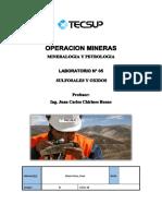 laboratorio 5 minerales
