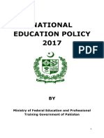 National Educaiton Policy 2017