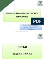 Design of Underground Rectangular Concre