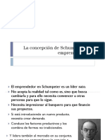 La Concepción de Schumpeter de Emprendimiento