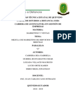 MIX MARKETING DE SERVICIOS