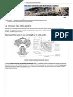 Le Concept des Cités-Jardins ; Utopie Urbaine - Association Régionale des Cités-Jardins d'Ile-de-France