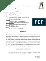 Mantenimiento y Características Del Dispositivo