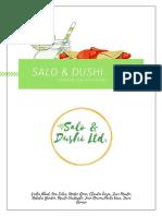 Salo & Dushi Business Plan